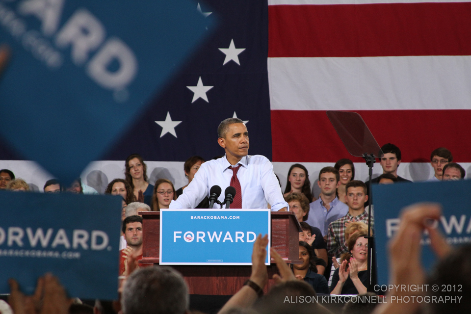 President Barack Obama - 1/200 @5.6 125mm ISO1250