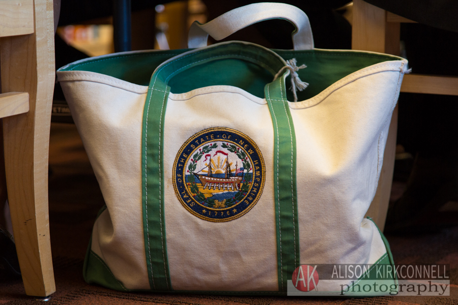 NH state seal totebag- pretty spiffy