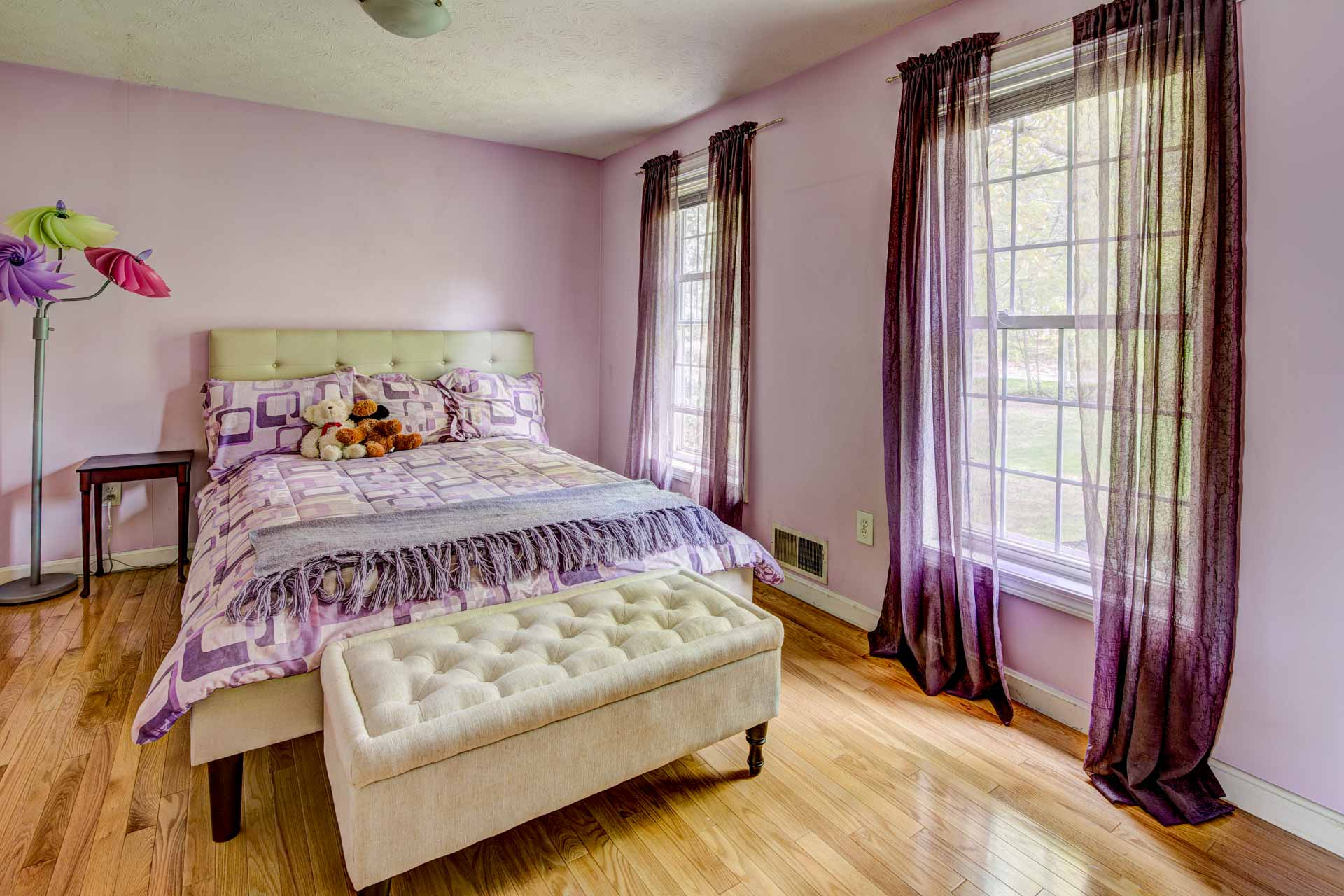 Real estate bedroom