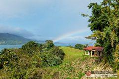 Lake Arenal rainbow, La Union, Costa Rica